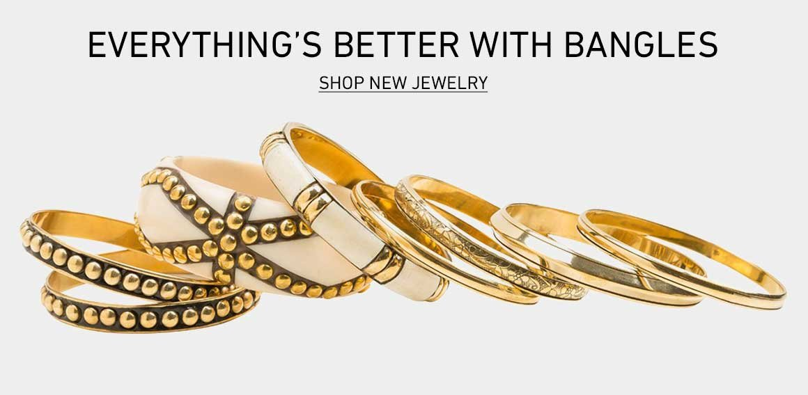 Better With Bangles: Shop New Jewelry
