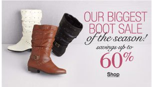 our biggest boot sale of the season