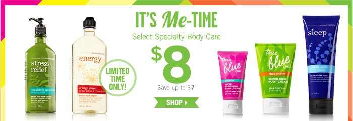 Select Specialty Body Care $8