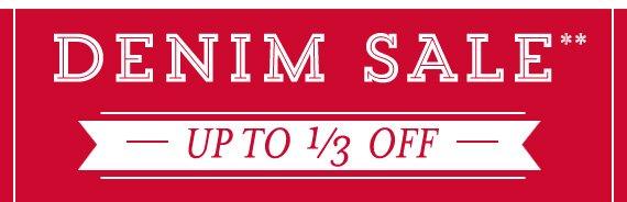 Shop All Men's Denim Sale