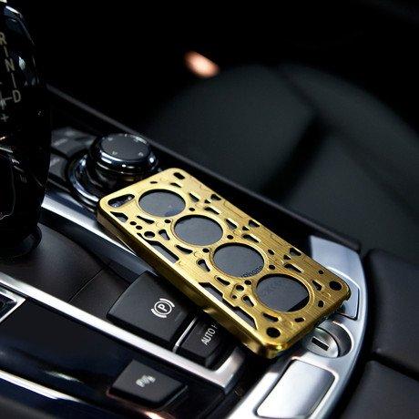 Gasket V8 for iPhone 5 // Gold
