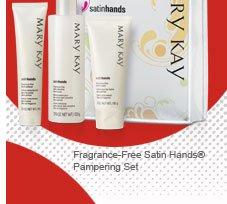 Fragrance Free Satin Hands® Pampering Set