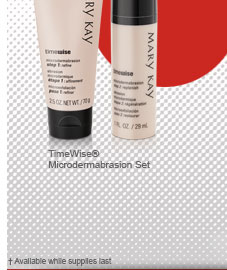 TimeWise® Microdermabrasion Set. † Available while supplies last.