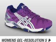 Shop the Women's GEL-Resolution 5 - Promo D
