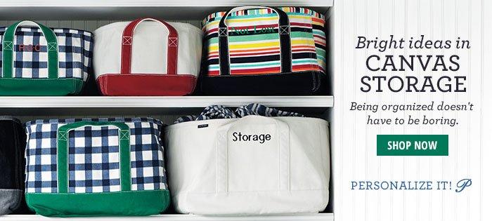 Canvas Storage > Shop Now