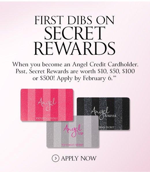 First Dibs on Secret Rewards