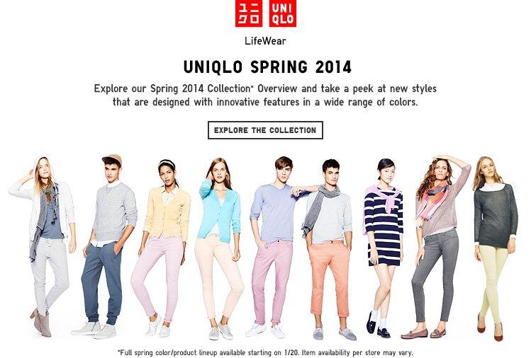 Uniqlo Spring 2014