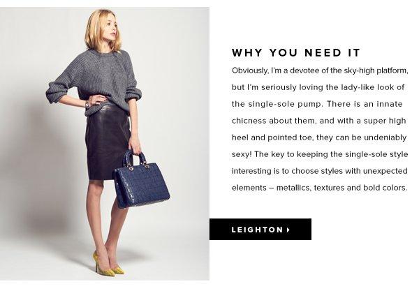 Leighton: