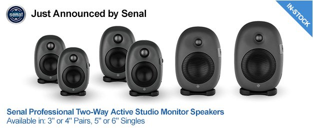 Just Announced by Senal: ASM Speakers