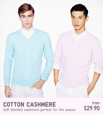 MEN COTTON CASHMERE