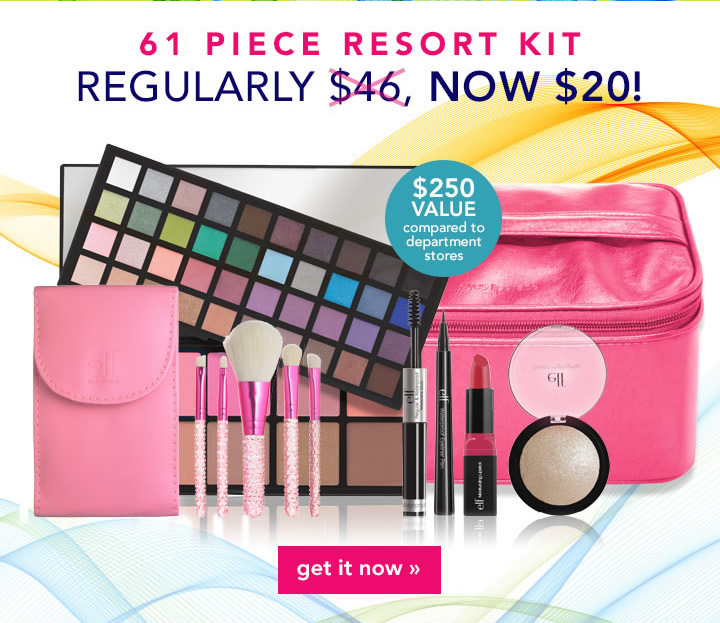 61 Pice Resort Kit Now $20!  Get It Now!