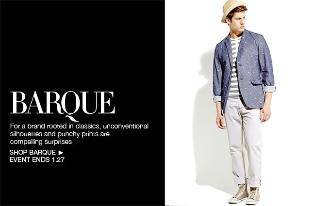 Shop Barque - Men