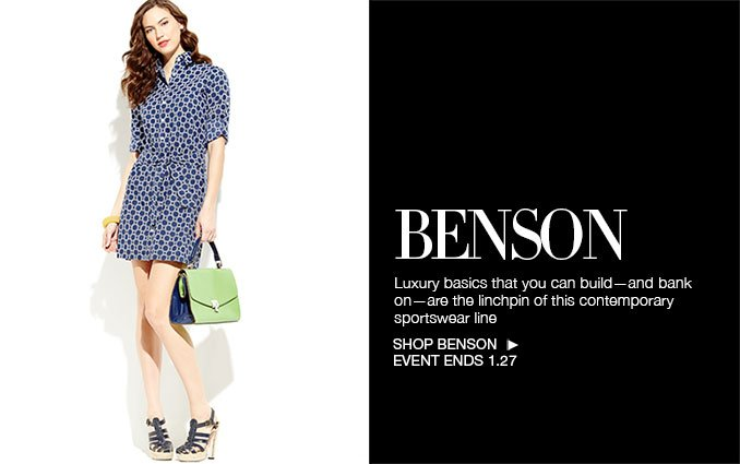 Shop Benson - Ladies