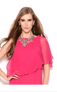 Galliano Silk Dress