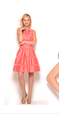 Just Taylor Bow Dress