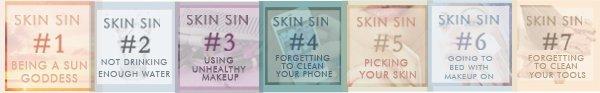 7 Skin Sins blog