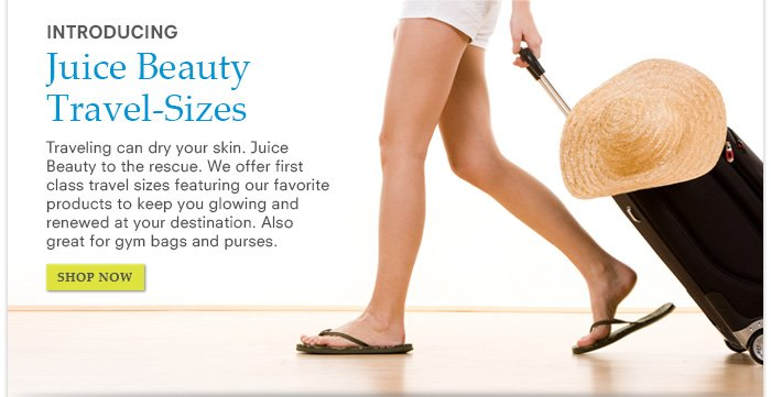 Introducing Juice Beauty Travel Sizes