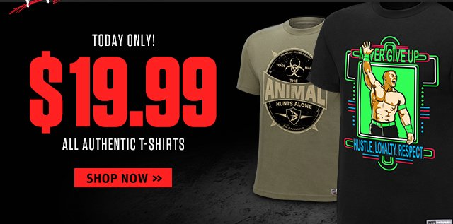 All Authentics are $19.99 - Today Only!