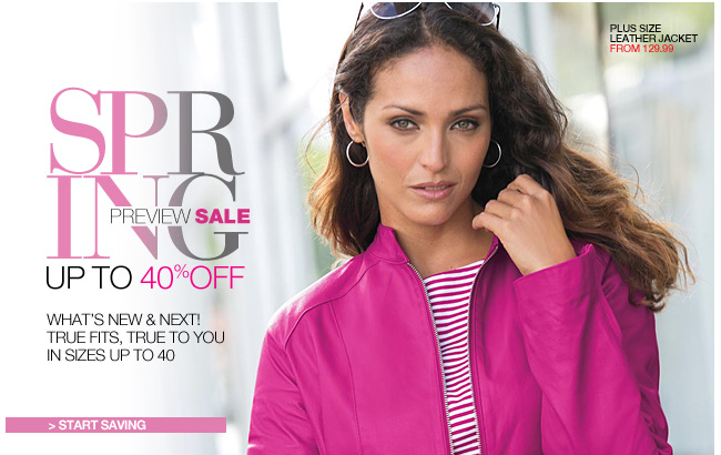 Spring Preview Sale, Up to 40% Off