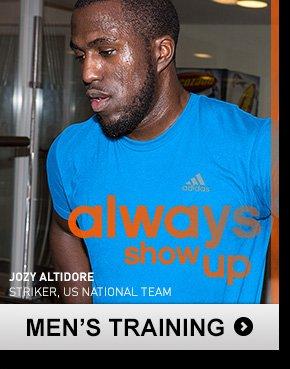 Shop Men's Training Apparel »