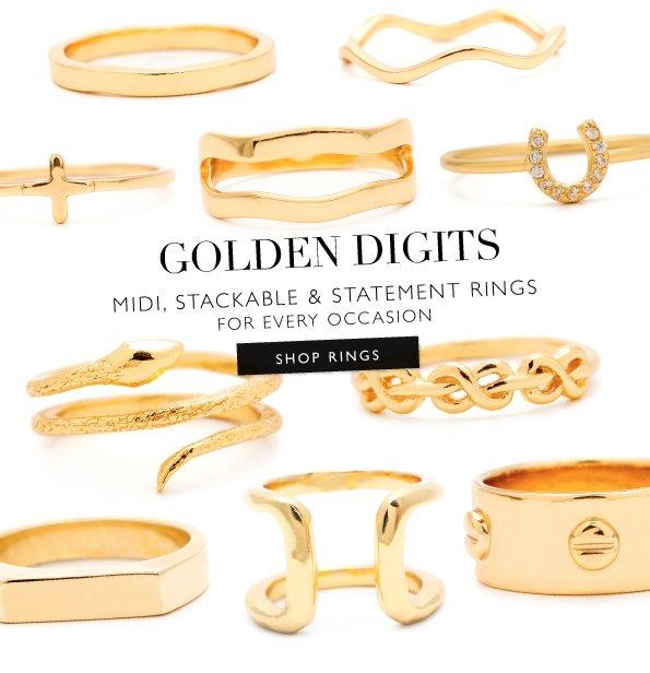 gorjana | Rings of Gold