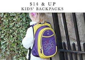 $14 & Up: Kids' Backpacks