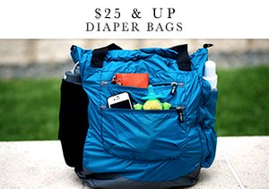 $25 & Up: Diaper Bags