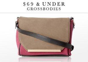 $69 & Under: Crossbodies