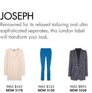 JOSEPH. SHOP NOW