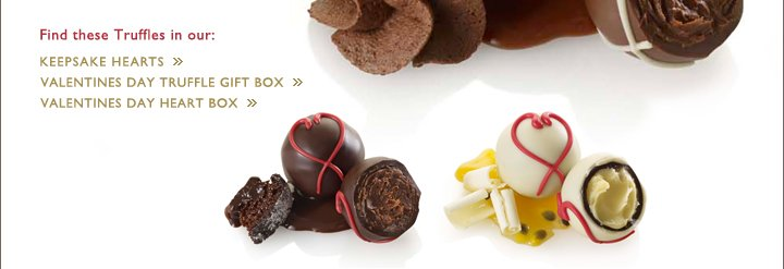 Find these Truffles in our KEEPSAKE HEARTS