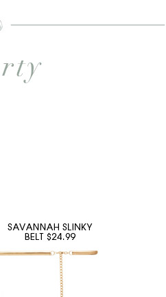 SAVANNAH SLINKY BELT