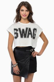 Swagged Out  Crop Top 18