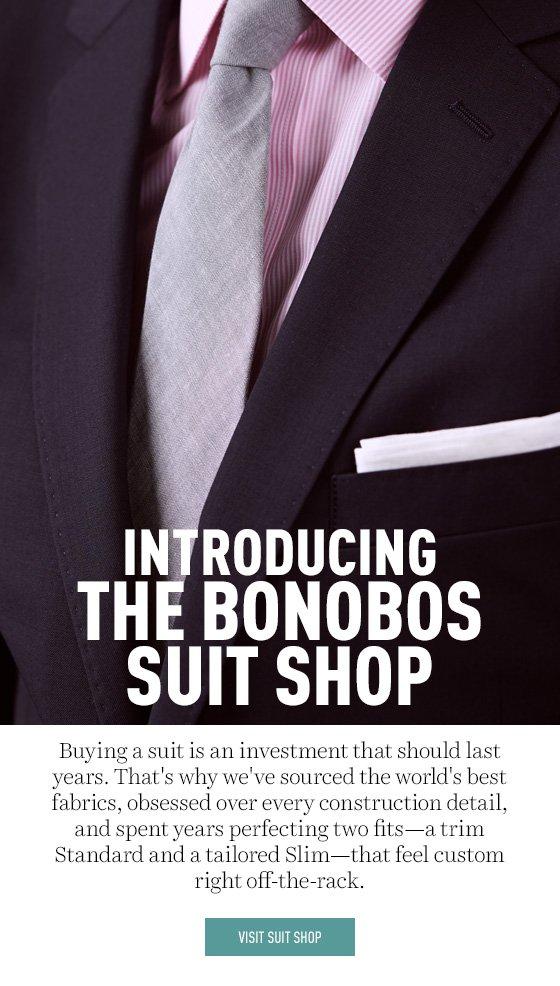 Introducing the Bonobos Suit Shop