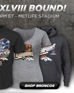 Shop Super Bowl Bound Gear