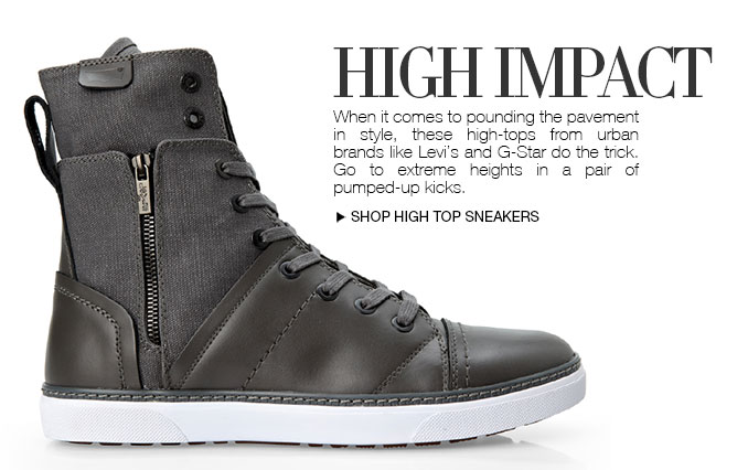 Shop Hi-Top Sneakers For Men
