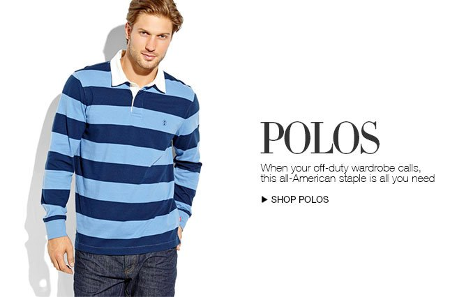 Shop Polos For Men