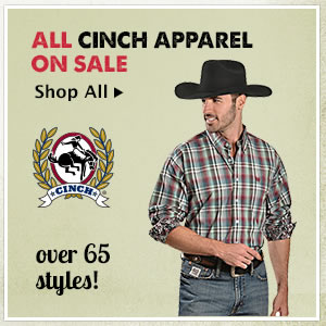 All Mens Cinch Apparel on Sale