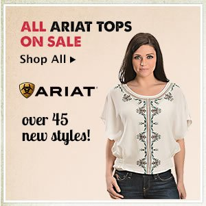 All Ariat Tops on Sale