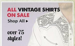 All Mens Vintage Shirts on Sale