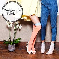 BLACK&BLANCHE Leggings, Stockings & Socks