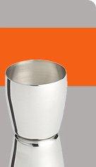 stainless steel jigger 3.96 reg 4.95