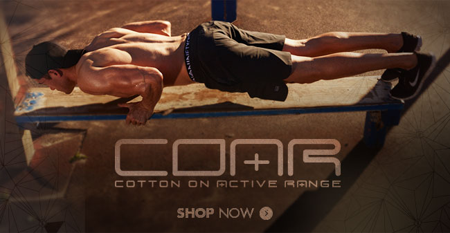 COAR Cotton On Active Range