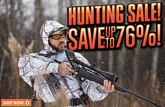 Sportsman's Guide's Hunting Sale! Save Up To 76%!