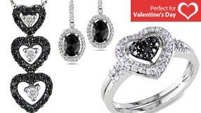 Black & White Diamonds and Gemstones