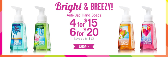Anti-Bac Hand Soap –' 4 for $15