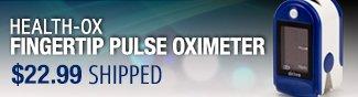 Newegg Flash - Health-Ox Fingertip Pulse Oximeter.