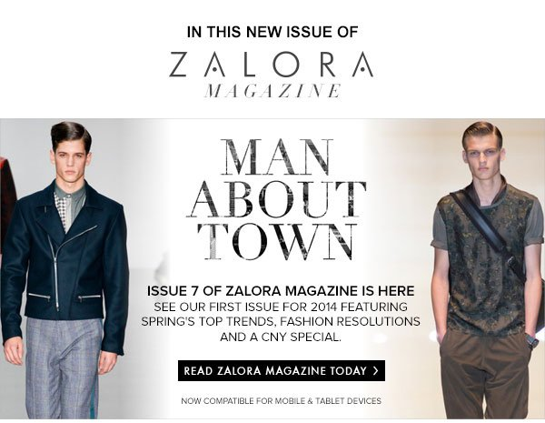 New Magazine Issue: MAN ABOUT TOWN
