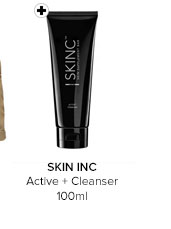 SKIN INC Active + Cleanser