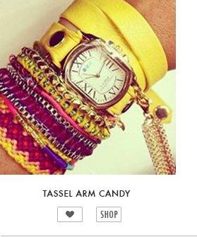 Tassel Arm Candy