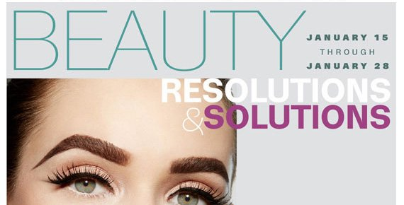 Beauty Resolutions & Solutions.